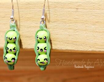 3 Peas in a Pod earrings