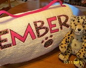 Teen Size Chenille Sleeping Bag