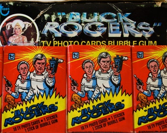 2 Buck Rogers Photo Card Packs by Topps 1979