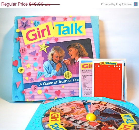 Girl Talk First Edition A Game of Truth or Dare