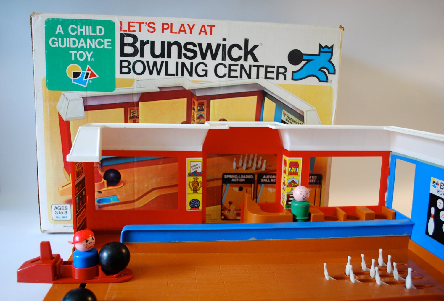 Brunswick Bowling Center A Child Guidance Toy
