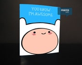 Adventure time (printed card)