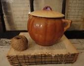 Antique Pee Dee Pottery Cookie Jar