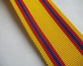 GROSGRAIN RIBBON in yellow/red/blue,