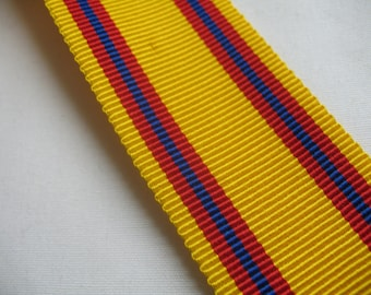 GROSGRAIN RIBBON in yellow/red/blue,