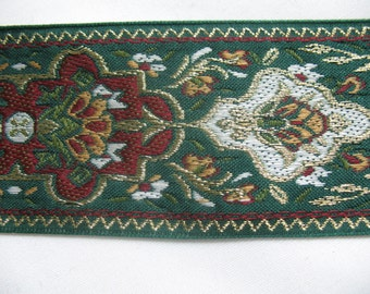 VINTAGE EMBROIDERED  RIBBON