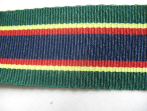 GROSGRAIN RIBBON in yellow/red/blue, and in green/blue/red/yellow, BEAUTIFUL.