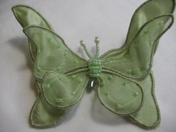 Green Butterfly Brooch pin