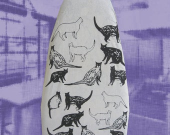 Cat Ironing Board Cover