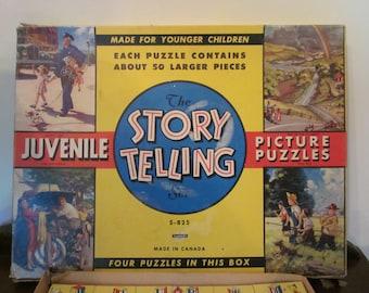 Vintage Children's Puzzles