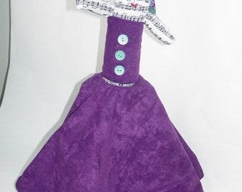 Purple Topsy Turvy Doll