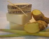 Lemongrass & Ginger Soap  140g