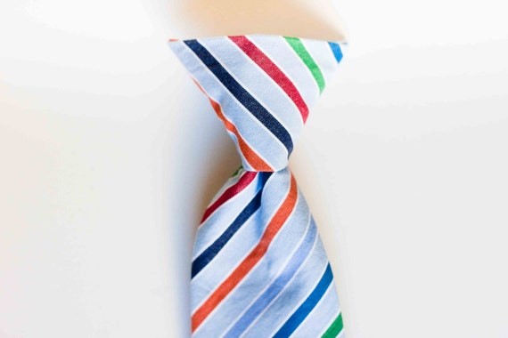 PARKER baby/toddler boy clip-on tie