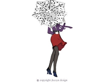 Custom Fashion Illustrations