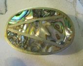 Abalone Belt Buckle