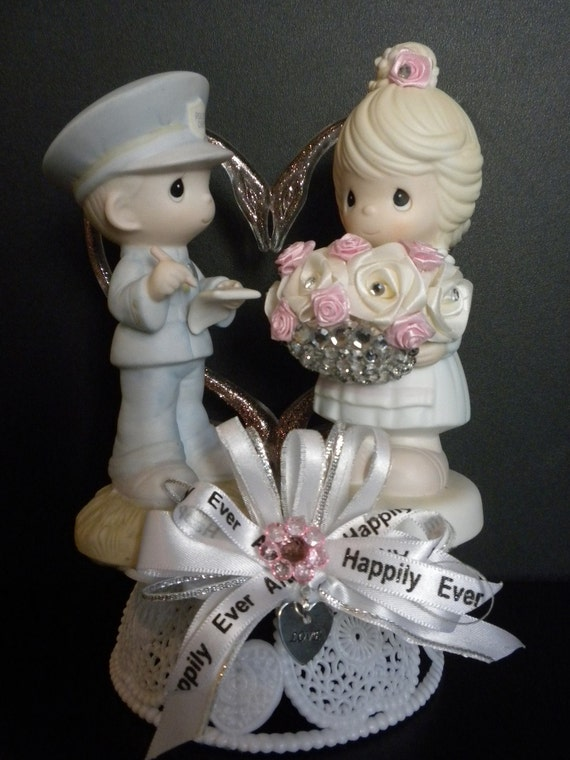 precious moments rustic wedding cake topper precious moments wedding cake topper by countrycutiesco 18713