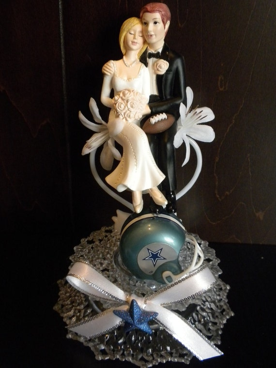 nfl wedding cake toppers items similar to nfl football wedding cake topper theme 17840