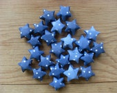 Night Sky Origami Stars, set of 24. Table Scatter.