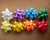 Made to Order Gift Bows, Choose Your Colors, set of 5. Rainbow Colors, Custom Order, Gift Wrap.