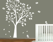 Baby Nursery Wall Decals Nursery Garden Tree Vinyl Wall Decal