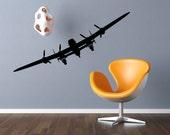 Airplane Vinyl Decals - Aviation Wall Decor - Jetliner Vinyl Wall Stickers - Airplane Decor