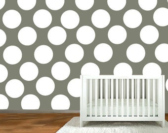 wall decal  -  Polka Dot stickers - vinyl wall decals - nursery wall decals