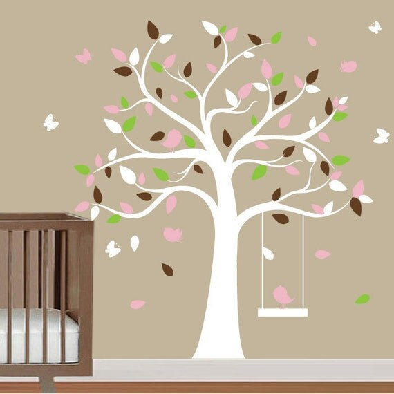 Tree decal for nursery wall