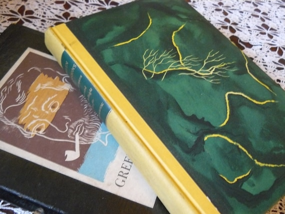 Green Mansions A Romance of the Tropical Forest  by W H Hudson illustrated by E McKnight Kauffer vintage book