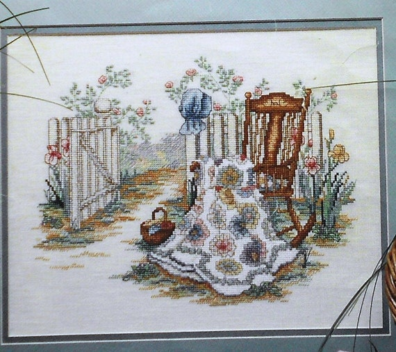 Paula Vaughan SPRING REMEMBERED Part 2 - Counted Cross Stitch Pattern Chart - By Leisure Arts