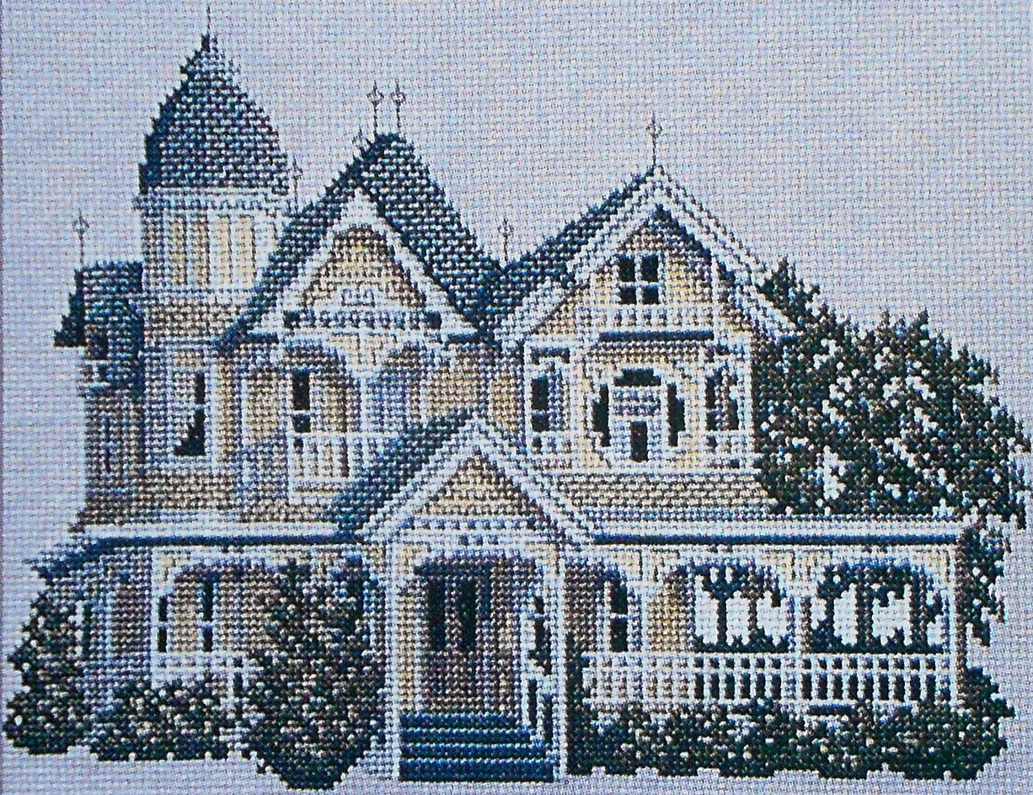 Debbie patrick the donnelly victorian house picture counted for House of patterns
