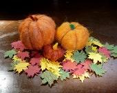Felted Wool Pumpkins Autumn Halloween Thanksgiving