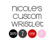 Nicole's custom wristlet clutch with gathers and zipper, credit card pockets, removable strap