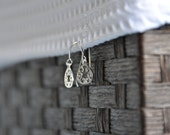 Sterling Silver dangling earrings