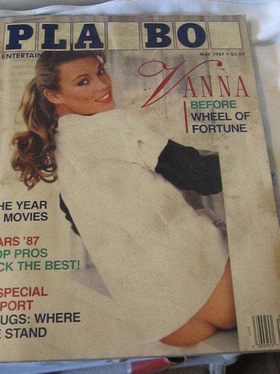 1987 adult cover magazine may playboy vanna white
