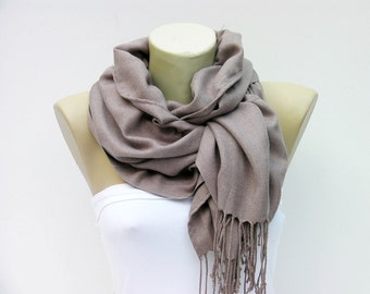 Ruffle scarf ,pashmina fabric scarf ,long scarf - CHOOSE YOUR COLOR