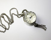 Glass Orb Watch-01 For Steampunk Jewelry