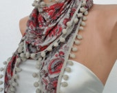 Special for Christmas in July- scarf- autumn-winter