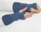 ON SALE Ready to ship Hand Crochet Fingerless Gloves mittens