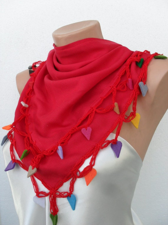 Reserved for Dalit- Happy Christmas Scarf