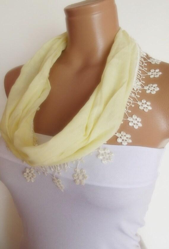 2012 summer fashion cotton scarf new light yellow