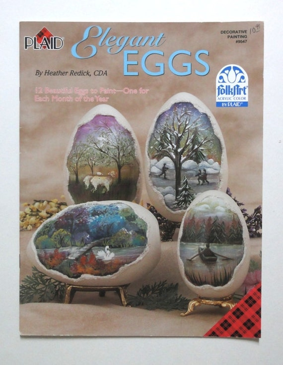 Elegant Eggs by Heather Redick   Decorative-Tole Painting Book