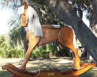 Handmade Heritage Rocking Horse