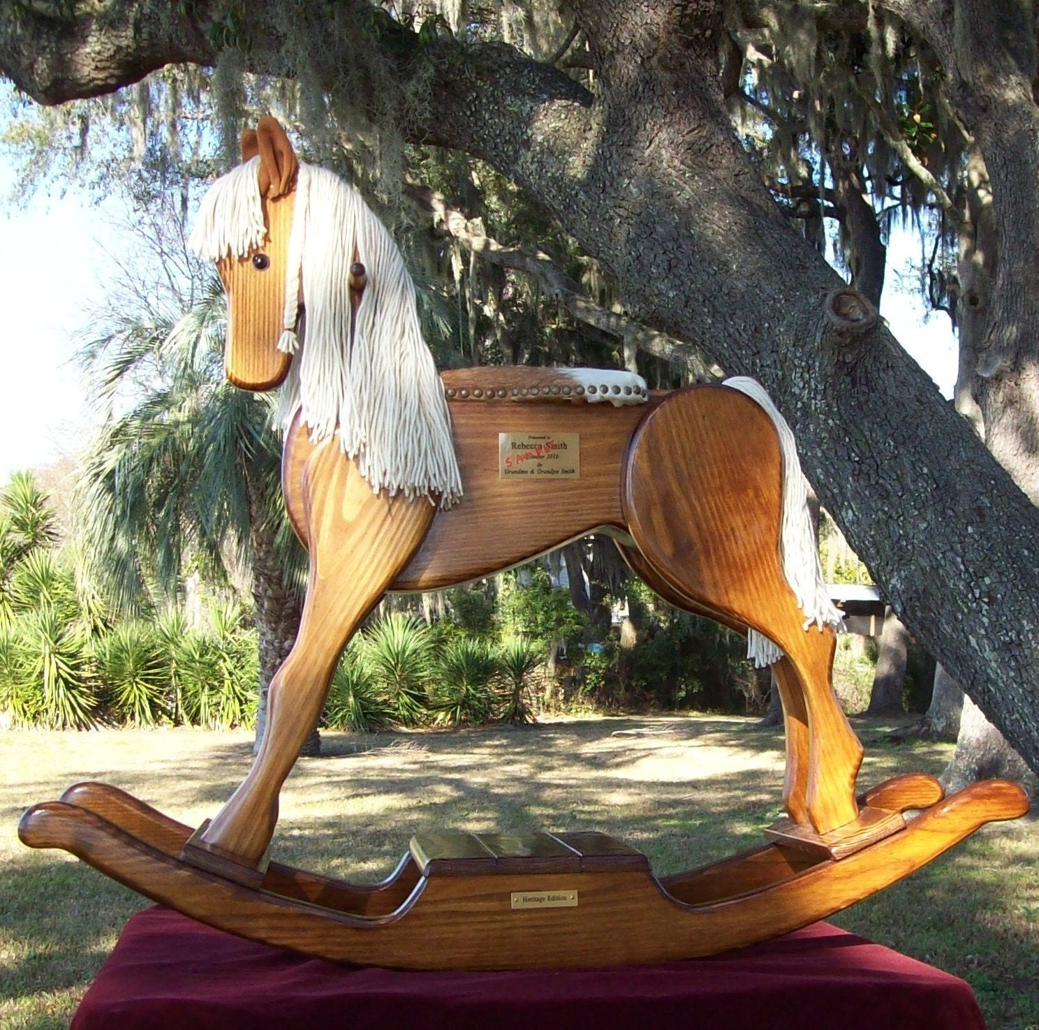 Handmade Heritage Rocking Horse By Andrewsrockinghorse On Etsy