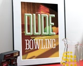 "The Big Lebowski Art Print (f-ck it) A3 or to fit Ribba frame 16.5"" x 20.5"""