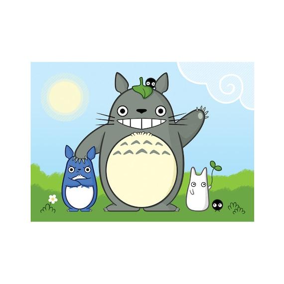 CHARITY FUNDRAISER My Neighbour Totoro 5x7 Print