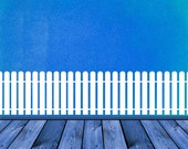 Picket Fence, Rounded Top - Decal, Sticker, Vinyl, Wall, Home, Nursery, Day Care Decor