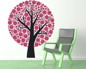 Treef Polka Dots, Branches, Branch, Spots - Decal, Sticker, Vinyl, Wall, Home, Nursery, Daycare, Playroom Decor