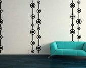 Retro, Wall Paper, Polka Dots, Design - Decal, Sticker, Vinyl, Wall, Home, Office, Living Room Decor