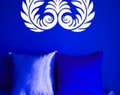 Greek Decal, Rome Wall Art, Roman, Acanthus, Leaf Decal, Wall Decal, Wall Decor, Home Wall Art, Bedroom Decal, Office Decor, Greek Decor
