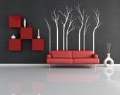 Trees, Winter, Aspen, Birch, Fall, Set, Lot - Decal, Sticker, Vinyl, Wall, Home, Office, Bedroom Decor
